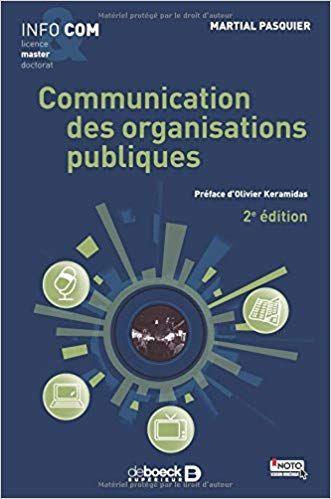 Communication Des Organisations Publiques Telecharger Pdf Epub Mobi Books Communication Goodreads