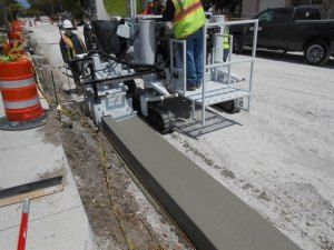 Curb And Gutter Machine With Advanced Technology Curbing Design Gutter