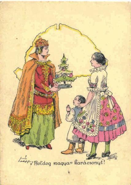 magyar karácsonyi képeslapok - Google keresés | Karácsony