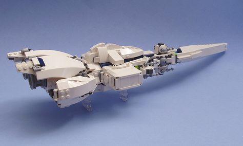 Iterrus Class Light Cruiser by peterlmorris, via Flickr