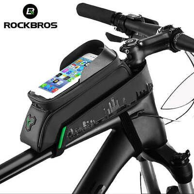 Details About Icycle Bag Front Tube Bike Phone Bag Touch Screen