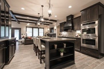 Kitchen Ideas Espresso Cabinets parade of homes - rylee ann plan with casita - transitional
