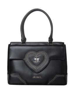 cf4f0f648d LOVE MOSCHINO BORSA A MANO CON ASTUCCIO ECOPELLE NERO | LOVE Moschino.  Founded in Milan in 1983. | Moschino, Bags e Fashion