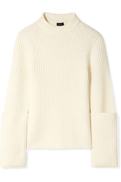 Joseph Ribbed Merino Wool Sweater Merino Wool Sweater Wool Sweaters Sweaters