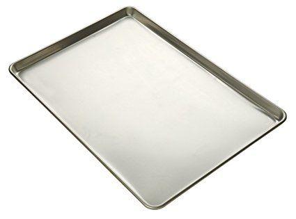 Focus Foodservice Commercial Bakeware 20 Gauge Natural Finish Aluminum Sheet Pan Full Sheet Review Sheet Pan Aluminium Sheet Natural Finish
