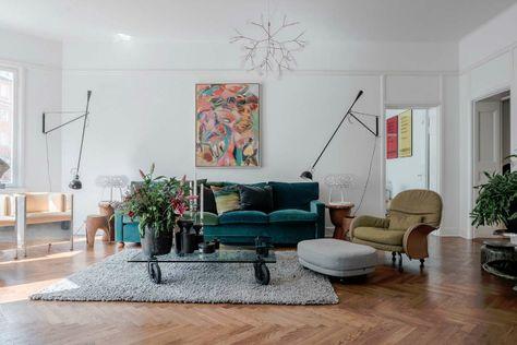 Woonkamer Met Kunst : Eclectisch interieur vol kunst met wow effect interieur