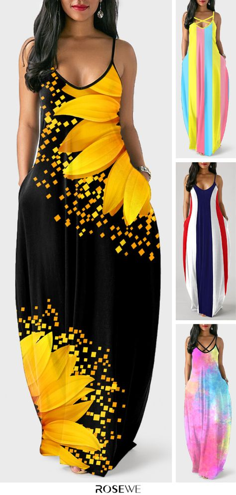 Chic Outfits, Pretty Outfits, Pretty Dresses, Sexy Dresses, Beautiful Dresses, Summer Dresses, Summer Maxi, Maxi Robes, Up Girl