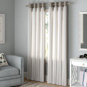 Rosdorf Park Brockham Solid Blackout Grommet Curtain Panels