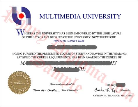 Fake Malaysia College Diploma Sample from PhonyDiploma -http\/\/www - free college diploma template