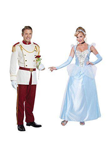 Prince Charming Adult Mens Costume Cinderella Disney White Jacket Halloween