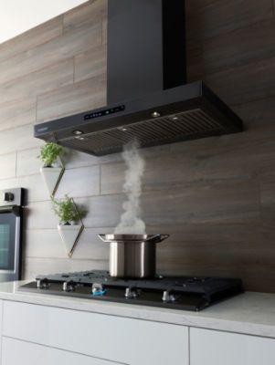 Samsung 30 Black Stainless Steel Wall Mount Hood Nk30k7000wg A2 Interior Kjokken Hjem