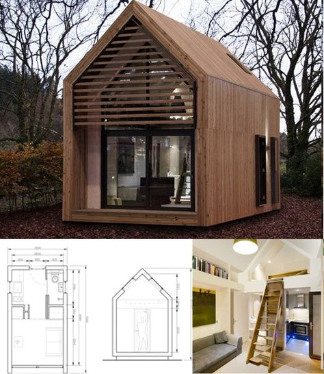shed for living by fkda architects. sheds for living: small practical prefab living space | affordable housing, yards and spaces shed by fkda architects