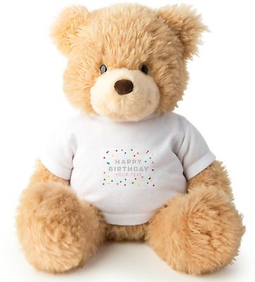 Personalized Teddy Bear 18 Quot Height With T Shirt Custom Your Image And Text Xmas Custom Teddy Bear Teddy Bears Valentines Christmas Teddy Bear
