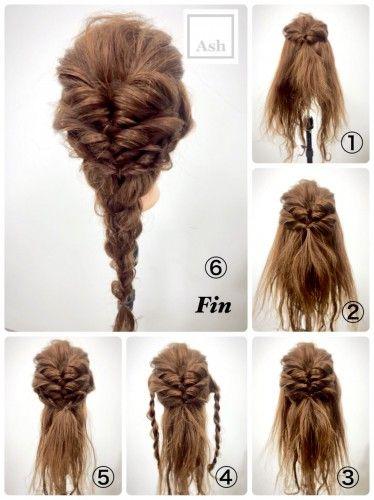 ヘアアレンジは簡単アップのまとめ髪で!ロングやミディアムの