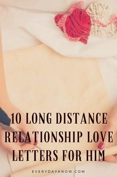 long distance relationship letters for him