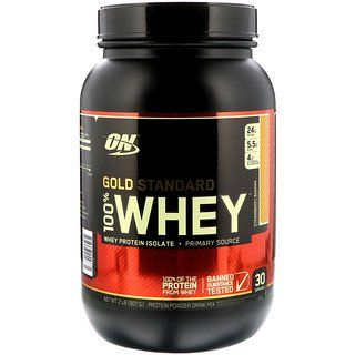 Optimum Nutrition Gold Standard 100 Whey Strawberry Banana 2 Lbs 907 G Optimum Nutrition Optimum Nutrition Gold Standard Gold Standard Whey Protein