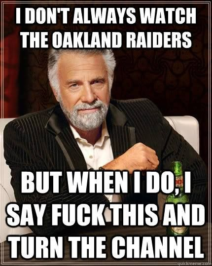Raider Hater Extraordinaire The Most Interesting Man In The World
