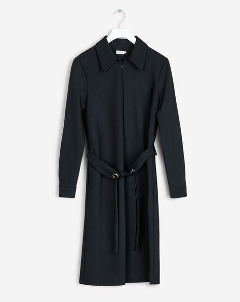 filippa k shirt zip dress