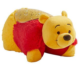 Pillow Pets Winnie The Pooh Sleeptime Lites Plush Night Light Qvc Com In 2020 Animal Pillows Winnie The Pooh Pets