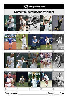 Name These Mens Wimbledon Winners Trivia Events Quiz Wimbledon