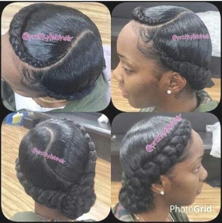 1000 Ideas About Goddess Braids On Pinterest Braids Box Braids Intended For 2 Goddess Braids With Weave Hair Styles Natural Hair Styles Goddess Braids