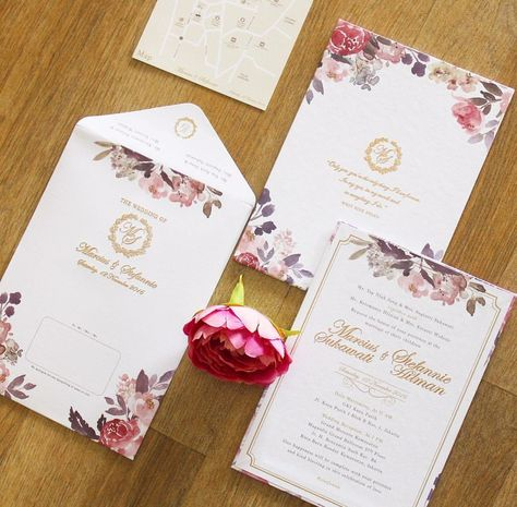 Contoh 2 Wedding Invitations Wedding Invitation Cards