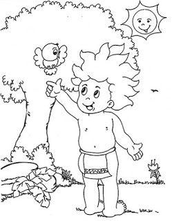 Desenhos Para Colorir Personagem Do Folclore