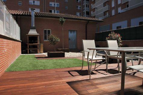 Diseño de jardín en patio interior