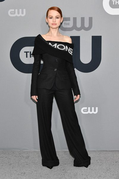 Madelaine Petsch attends the 2018 CW Network Upfront at The London Hotel.