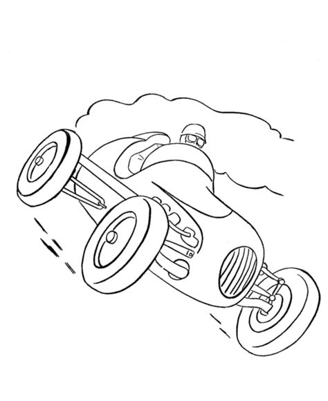 Race Car Coloring Pages Pinterest Coloring Pages Cars