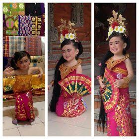 Pin Di Baju Adat Bali