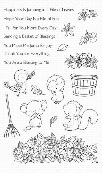 Sy Piles Of Fun In 2020 Mft Stamps Stamp Leaf Images