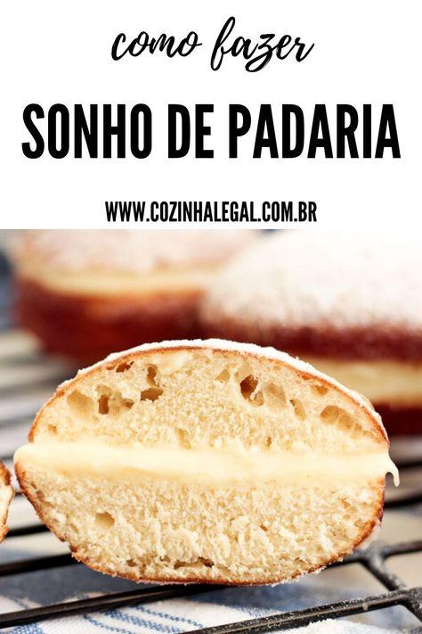 Aqui está uma receita de sonho de padaria profissional com todos os segredos revelados. Essa é uma receita simples e prática, que rende aproximadamente 10 sonhos.
