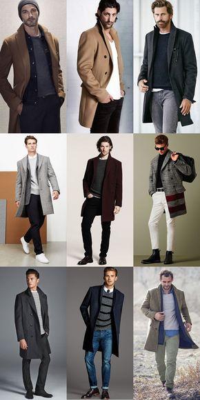 Smart casual men winter