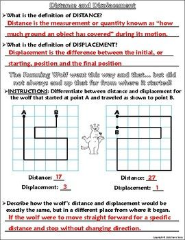 Worksheet Graphing Distance And Displacement W The Running