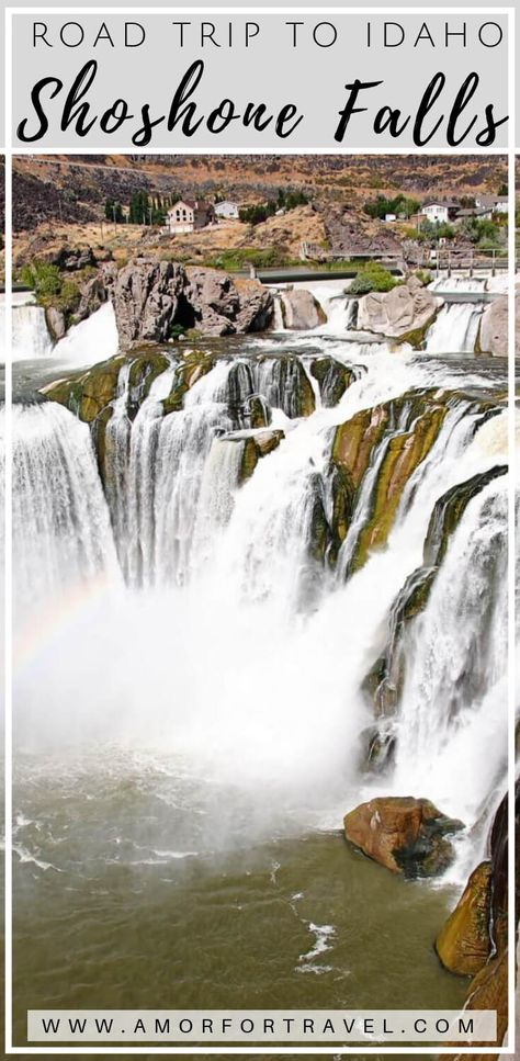 Shoshone Falls on a Day Trip to Idaho - Amor for Travel