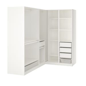 Pax Armoire D Angle Blanc 310 310x236 Cm Ikea In 2020