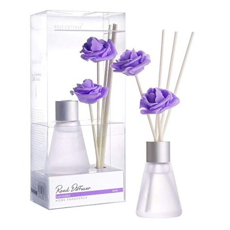 Amazon Com Rose Cottage 60ml Lavender Reed Diffuser Set With
