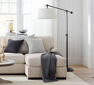 Cfl Chelsea Sectional Floor Task Lamp