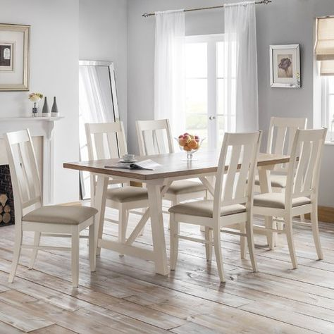 Seneca Dining Set With 6 Chairs With Images Dining Table Buy