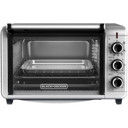 Black Decker Dining In Countertop Convection Oven To3210ssd Silver Countertop Oven Countertop Convection Oven Toaster