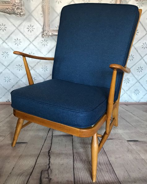vintage Ercol 403 upholstered by...