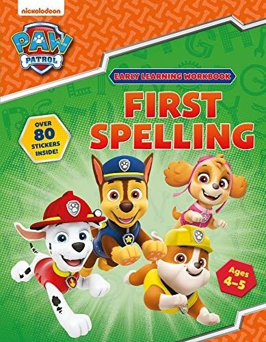 Download Free Pdf Spelling Practice Ages 4 To 5 Paw Patrol Early Learning Sticker Workbook B Early Learning Paw Patrol Childrens Learning