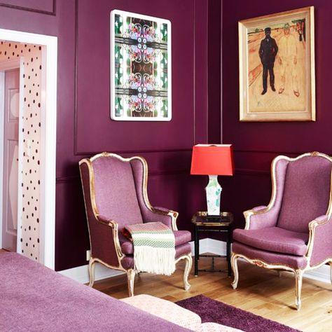 La Couleur Prune Pour Une Deco Reussie Decoration Interieure