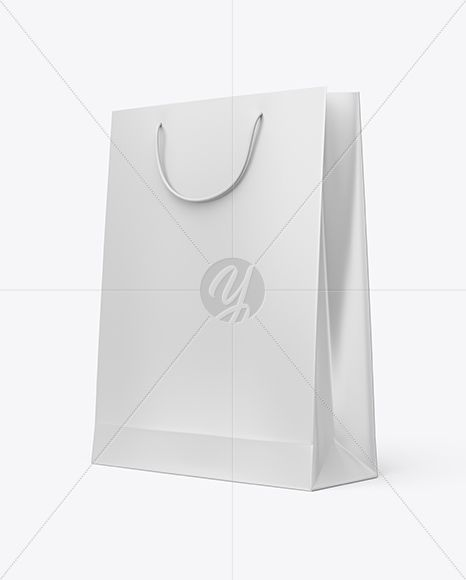 Download Matte Paper Shopping Bag Mockup Half Side View In Bag Sack Mockups On Yellow Images Object Mockups Bag Mockup Paper Shopping Bag Mockup Free Psd