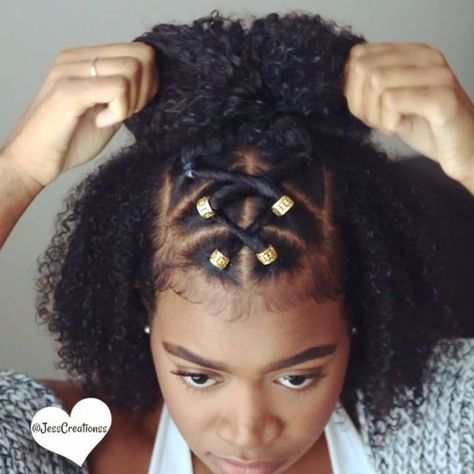 Pin By Keshia Stamps On Au Naturale In 2018 Natural Hair Styles