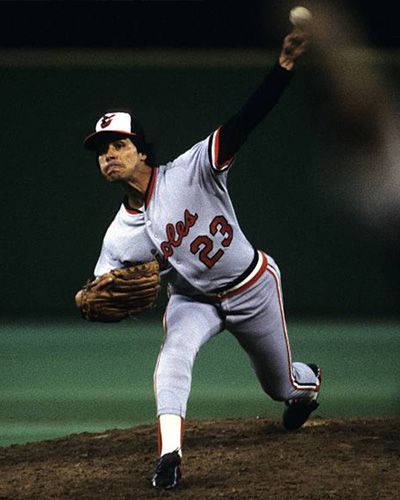 Tippy Martinez Baltimore Orioles American League Orioles