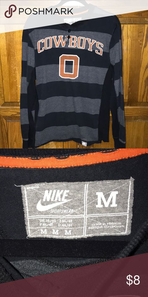 Mens long sleeve. Men s Oklahoma State Cowboys long sleeve shirt. Nike  Shirts Tees - Long Sleeve 89aa73656