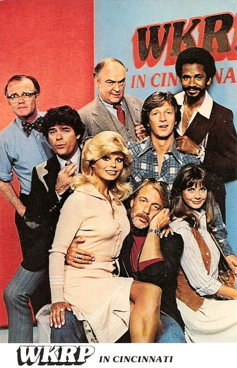 WKRP in Cincinnati - Loved this show. My husband even play on some of music tracks for this show. 80 Tv Shows, Old Shows, Great Tv Shows, Childhood Tv Shows, My Childhood Memories, Sean Leonard, Ed Vedder, Mejores Series Tv, Vintage Television