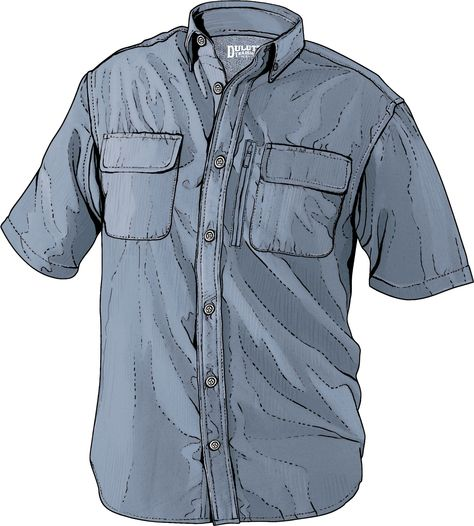 Duluth Trading Co Mens 2XL Tall CoolPlus Short Sleeve Outdoor Work Shirt Brown